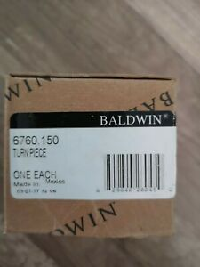 Baldwin Estate 6760.150 Turn Piece, One Each, Brand New