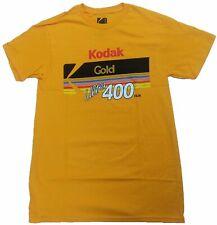 Kodak Camera Gold Ultra 400 Film Vintage Mens T-Shirt (Yellow)