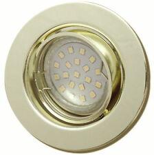 LED Einbauspot Tomas | 3x Step Dimmbar | 5W Gold / Messing Warmweiss - 3000k
