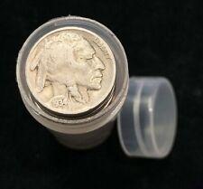 Old Sealed Buffalo Nickel Half Roll //// 20 Coins //// The Manhattan Company 1