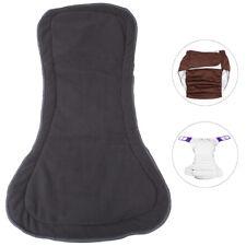 Adult Bamboo Charcoal Cloth Diaper Insert Pad Reusable Liner Nappy  Liner 4L uh