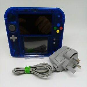 Transparent Pokemon Blue Limited Edition - Nintendo 2DS - FTR-001