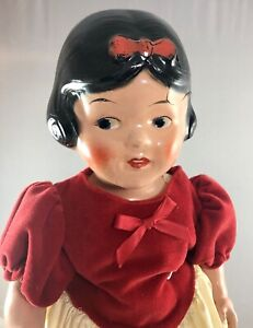 """18"""" Antique American Composition Ideal Snow White Doll! Beautiful! Rare! 18041"""