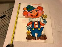"""vintage PIN NOSE ON CLOWN game poster 21"""" x 16"""""""