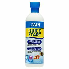 API QUICK START Freshwater and Saltwater Aquarium Nitrifying Bacteria 16Ounce