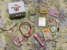 Rare Vintage Japan Licca Takara Fashion Doll Accessory Lot Dr Nurse ~