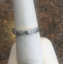10k Gold Diamond Ring Size 7