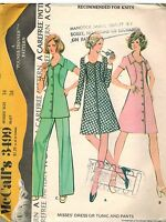 3499 Vintage McCalls Sewing Pattern Misses Dress Tunic Pants Pound Thinner UNCUT