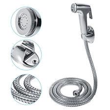Toilet Shattaf Adapter Spray Handheld Bidet Shower Head Wall Bracket Hose Kit CB