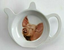 Melamine Teabag Holder Pig Tea Bag