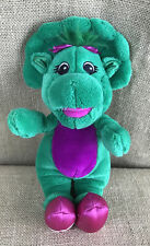 "Plush Barney Friend 12"" Baby Bop Talking Plush Figure"