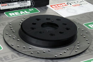 StopTech Sport Drilled Slotted Brake Rotor Rear Right for Supra TT 93-98 2JZ-GTE