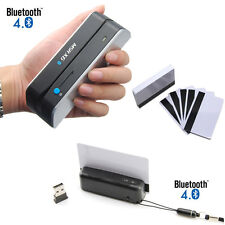 Msr Bluetooth Bundle Skimmer Portable Credit Card Reader Writer Encoder X6Bt