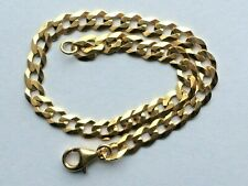Armband flach Panzerkette Kette Gold 333  Gelbgold 8K  (963)
