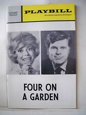 FOUR ON A GARDEN Playbill CAROL CHANNING / BARRY NELSON Tryout BOSTON Flop 1970
