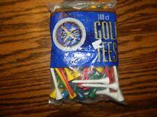 """NIP PRIDE GOLF TEES Package 100 Multi Color GOLF TEES 2 1/8"""""""
