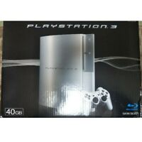 SONY PLAYSTATION 3 Satin Silver 40GB PS3 Game Console From Japan USED FedEx [K]