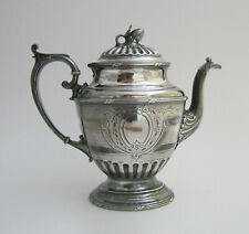 Antique Reed & Barton Aesthetic Victorian Era Silverplate Coffee Pot / Teapot