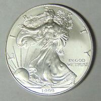 1999 American Silver Eagle 1 oz .999 Fine Silver Dollar