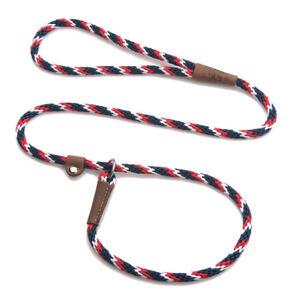 Mendota - Dog Puppy Leash - British Style Slip Lead - Pride - 4, 6 Foot