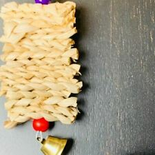 Handmade Birds Rope Structure for Play Steel Hooks Toys Safely