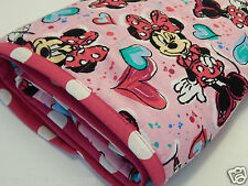Miss Minnie Mouse Quilt -Fleece Backed - Gorgeous!!!