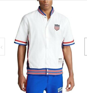 POLO RALPH LAUREN Chariots Warm Up Short Sleeve Shirt L $188