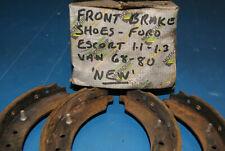 Ford Escort Front brake shoes  68-75