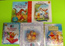 * WINNIE THE POOH - 5 assorted books see photo for titles,