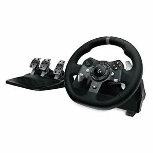 Logitech G920 Dual-Motor Feedback Driving Force Racing Wheel With Responsive -
