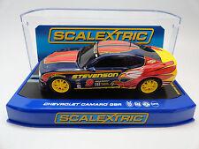 "Scalextric ""Stevenson"" Chevrolet Camaro GSR DPR 1/32 Scale Slot Car C3383"
