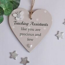 Teaching assistants like you are precious and few   Wooden Gift Plaque