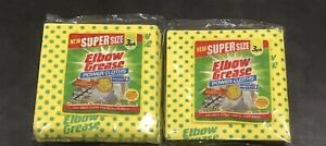 2 Elbow Grease Super Size Power Cloths 3 Pack