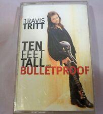 Ten Feet Tall and Bulletproof by Travis Tritt (Cassette, Apr-1994, Warner Bros.)