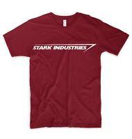 Stark Industries Logo T Shirt Iron Man Tony Stark Marvel Hulk Captain America