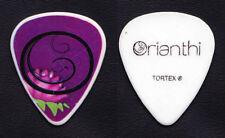 Alice Cooper Orianthi Panagaris Signature White Guitar Pick - 2013 Tour