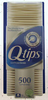 Q-tips 500 Count Cotton Swabs Brand NEW Sealed Sterile Ears