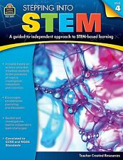 Teacher Created Resources Stepping Into STEM Grade 4 Education Printed Book for