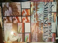 SNOW SCENES MANNIE GONSALVES  Walter T. Foster Publication