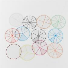 12X Fraction Circle Tiles Learn Fractions Maths Games Learning Education Toy HS3