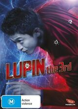 Lupin the Third (Live-Action) NEW R4 DVD