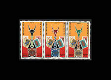Malagasy, Sc #468-70, MNH, 1972, Stamp Expo, Stamps on stamps, 10AGD