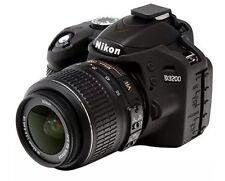 easyCover Nikon D3200 Black Protective Skin Camera Silicone Cover Free Shipping