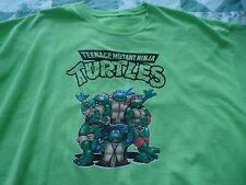 Men's size XXL Neon Green Teenage Mutant Ninja Turtles   Tee Shirt