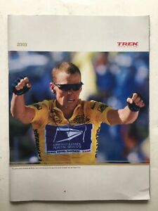 Vintage Original TREK Bicycle Catalog 2003