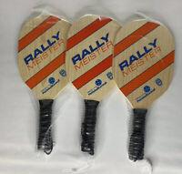 Rally Meister Pickleball Paddles - Set of 3 - Brand New
