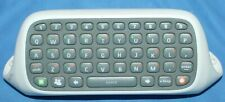 Official Microsoft Xbox 360 Controller Chatpad Keypad Attachment White