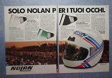 MOTOSPRINT987-PUBBLICITA'/ADVERTISING-1987- NOLAN CASCO N41 PRO VFE