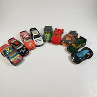 Lot Of 9 Loose Action Racing Hot Wheels and Matchbox Nascar Cars 1:64