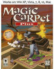 Magic Carpet Plus PC Mac Game Hidden Worlds